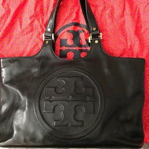 Tory Burch Bombe Leather Handbag